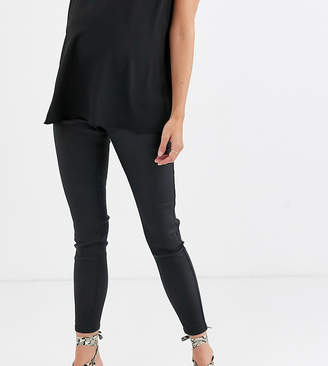 Urban Bliss Maternity high waisted coated jeans
