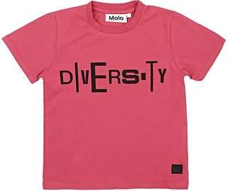 "Molo Kids Kids' Remo ""Diversity"" Cotton T-Shirt"