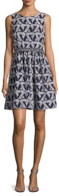 Fringe Waistband Flared Dress $158 thestylecure.com