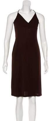 Diane von Furstenberg Spaghetti Strap Midi Dress