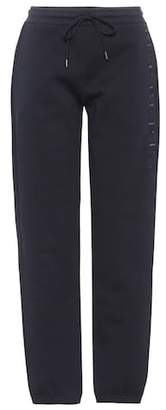 Burberry (バーバリー) - Burberry Embroidered cotton-blend sweatpants