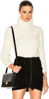 Saint Laurent Mohair Turtleneck Sweater