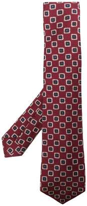 Kiton classic embroidered tie