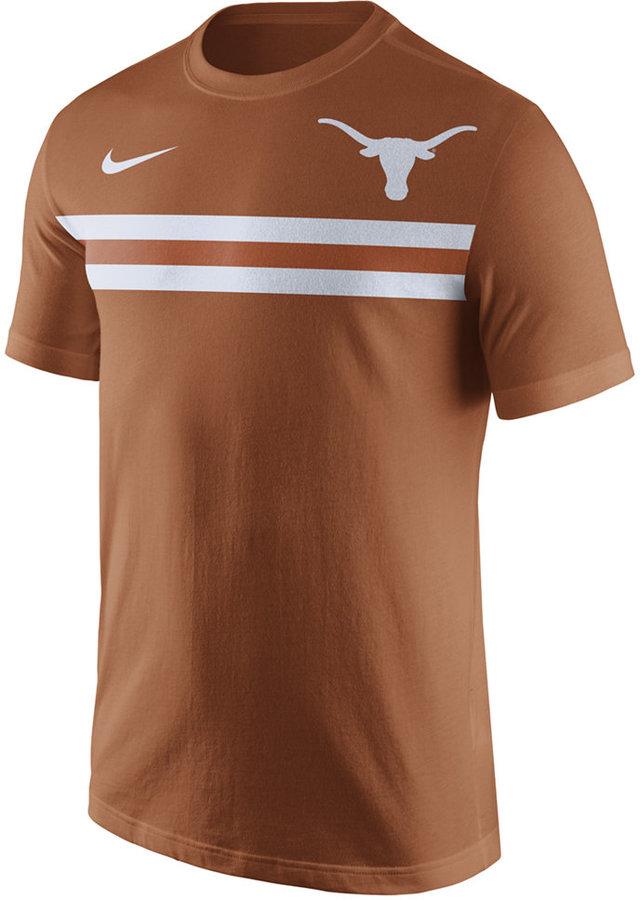 Nike Men's Texas Longhorns Team Stripe T-Shirt