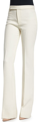 Ralph Lauren Collection Mid-Rise Panama Pants, Cream $1,090 thestylecure.com