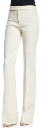 Ralph Lauren Collection Mid-Rise Panama Pants, Cream $1,090 thestylecure.com