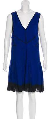 Proenza Schouler Printed Silk Dress