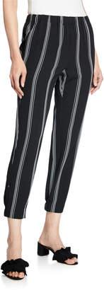 Rachel Roy Rina Striped Joggers