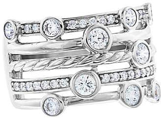 Rob-ert Robert Manse Designs Romanse Silver Cz Ring