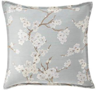 "Isabella Collection Lyssa Flower Pillow, 22""Sq."