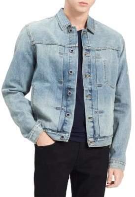 Calvin Klein Washed Denim Trucker Jacket