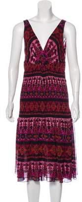 Diane von Furstenberg Makari Silk Dress