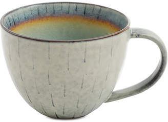 Gibson Elite Reactive Glaze Beige Mug