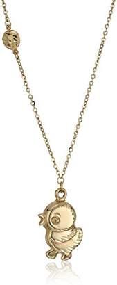 TreEsse Italian 10k Gold Duck Necklace