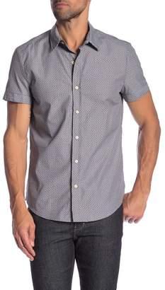 Parke & Ronen Biscayne Short Sleeve Printed Slim Fit Shirt