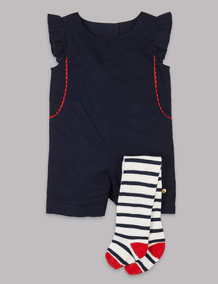 784dfdccf AutographMarks and Spencer 2 Piece Romper with Tights