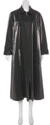 Chanel Metallic Coat