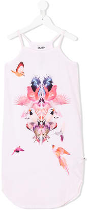 Molo digital-print tank dress