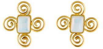 GivenchyGivenchy Swirl Clip-On Earrings