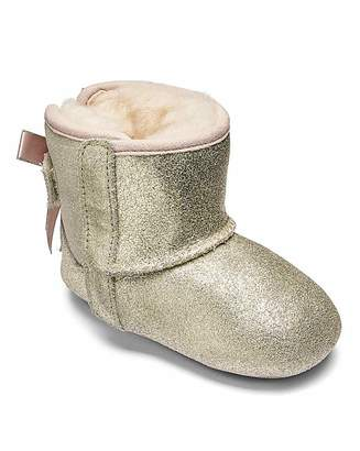 3c7e4c550c2d at Fashion World · UGG Jesse Bow Metallic Booties