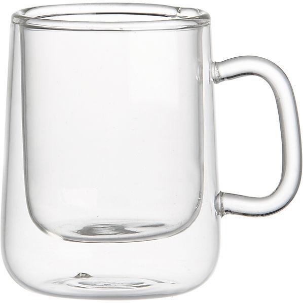 CB2 Double Wall Espresso Cup