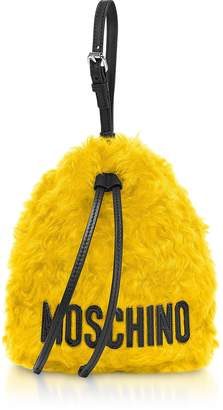 Moschino Mohair Bucket Bag