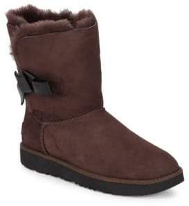 ... UGG Classic Knot Shearling Short Boots
