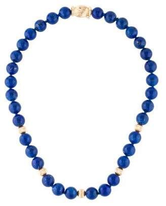 Lapis 14K Lazuli Bead Strand