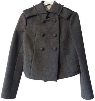 Valentino Grey Wool Jacket for Women