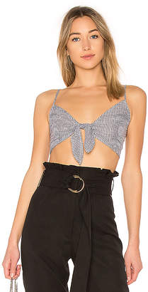 by the way. Sandy Striped Crop Top