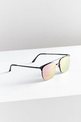 Quay Private Eyes Aviator Sunglasses $55 thestylecure.com