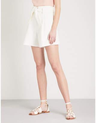 Maje Crepe tailored shorts