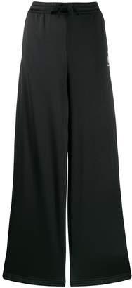 Reebok wide leg track pants