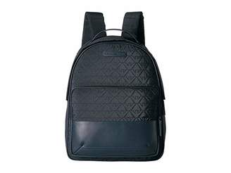 Emporio Armani Nylon Quilted Logo Backpack