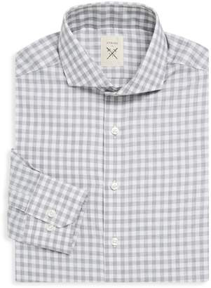 Strong Suit Clothing Espirit Tailored-Fit Gingham Dress Shirt