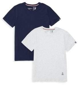 Psycho Bunny Motion Crew Two-Piece T-Shirt Set