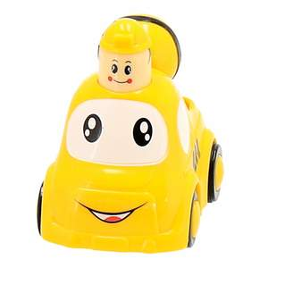 Bieco Push and Los Mixer Yellow self-propelled Press & Go car for Babies Toy Vehicle-Behind Crawling for Children from 9M 19560124