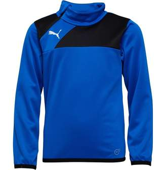 Puma Junior Boys Esquadra 1/2 Zip Training Top Royal/Black