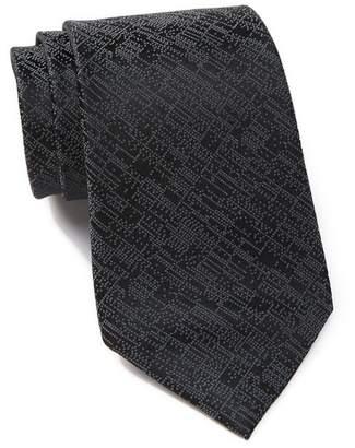 Calvin Klein Digital Allover Silk Tie