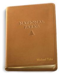 Graphic Image Personalized Leather National Parks Journal
