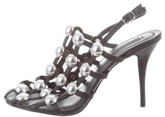 Alexander Wang Studded Caged Sandals