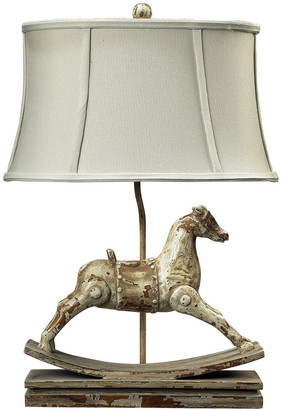 Elk Lighting 24In Rocking Horse Table Lamp