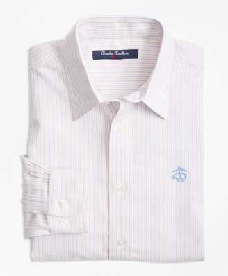 Brooks Brothers Non-Iron Supima Cotton Oxford Alternating Stripe Sport Shirt
