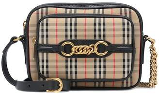 Burberry The Link checked crossbody bag