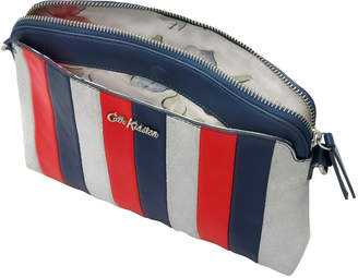 Cath Kidston 25th Birthday Navy Leather Cross Body