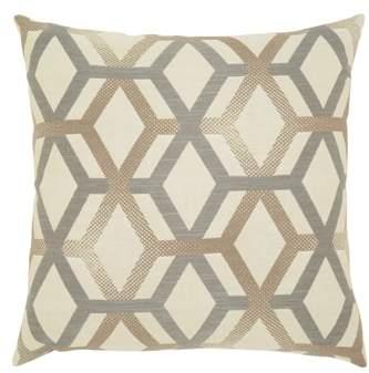 Lustrous Lines Indoor/Outdoor Accent Pillow