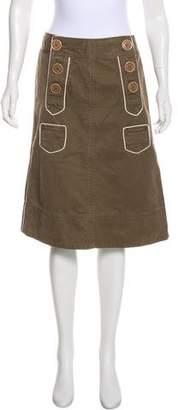 Marc Jacobs A-Line Knee-Length Skirt