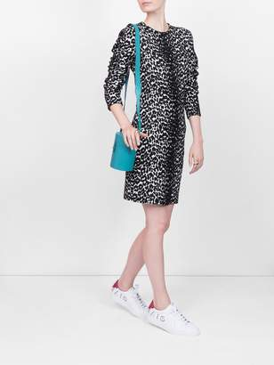 Givenchy Animal print longsleeved dress