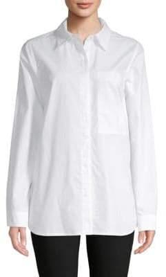 Proenza Schouler Long-Sleeve Cotton Button-Down Shirt