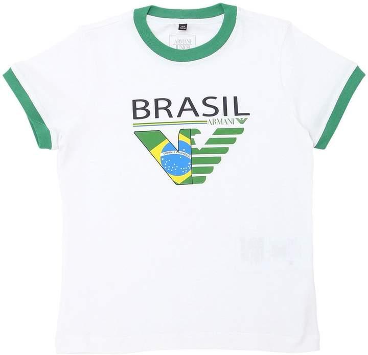 Brazil Soccer Team Cotton Jersey T-Shirt